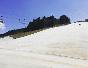 かぐらスキー場サマーゲレンデ