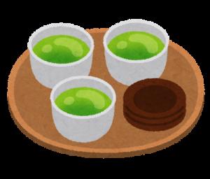 インフルエンザ 予防 お茶
