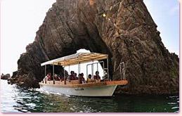 浦富海岸島めぐり遊覧船2