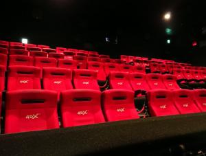 4D映画館