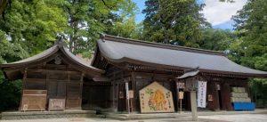 雄山神社 前立社壇