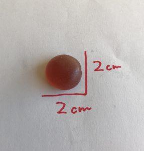 大きさ(2センチ)