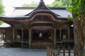 天岩戸神社(西本宮・神楽殿)1